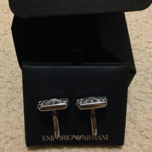 Authentic Emporio Armani Cufflinks