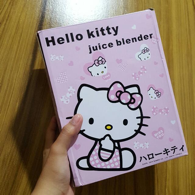 Authentic Hello Kitty Juice Blender