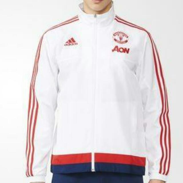 Authentic Manchester United presentation jacket track tops
