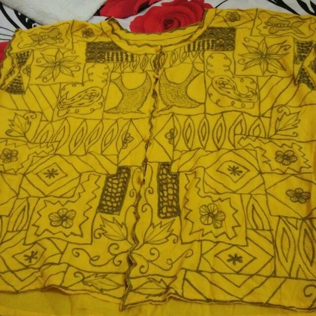 Baju Batik Bordir Bali