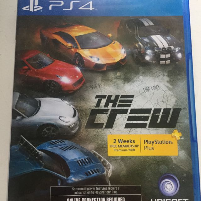 Bd Ps4 The Crew