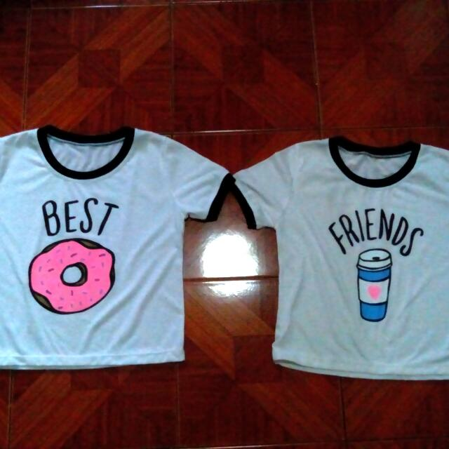 Best Friends Couple T-shirt