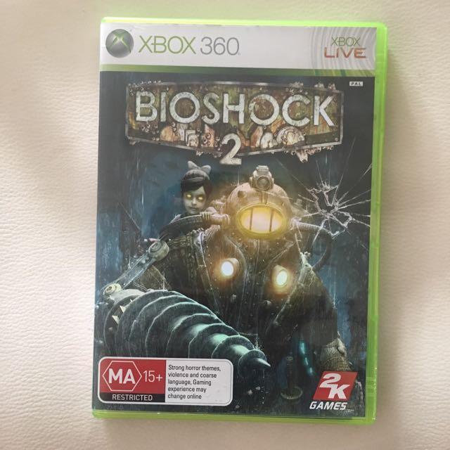 Bio Shock 2 For Xbox 360