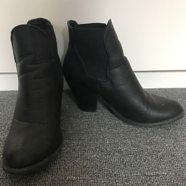 Black Ankle Boots - Rubi Shoes
