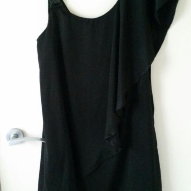 Black Cocktail Dress Size 8