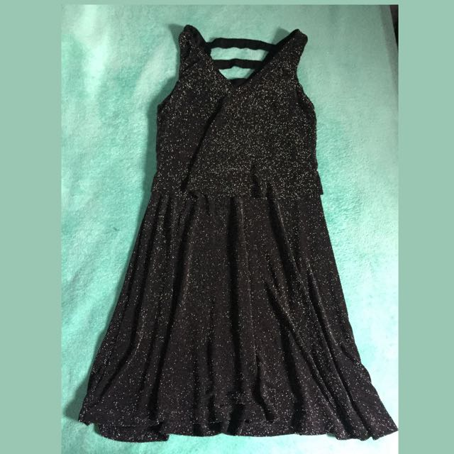 Black Pearl Mini Dress