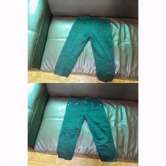 Black tokong pants