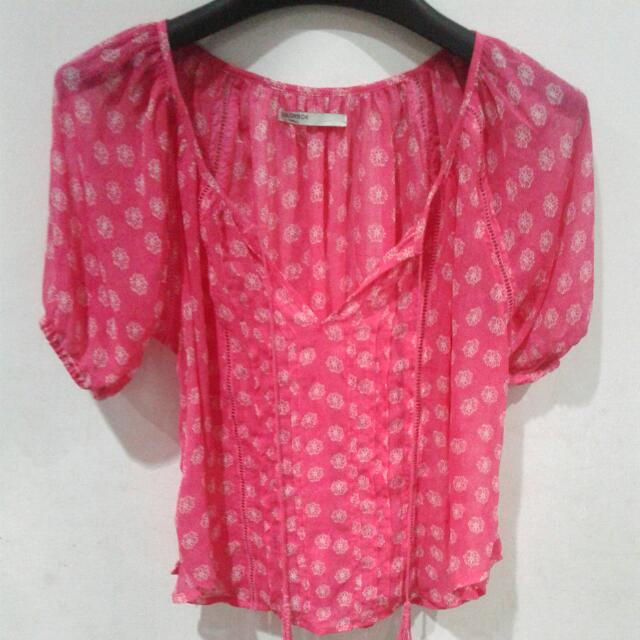 Blouse Colorbox Pink