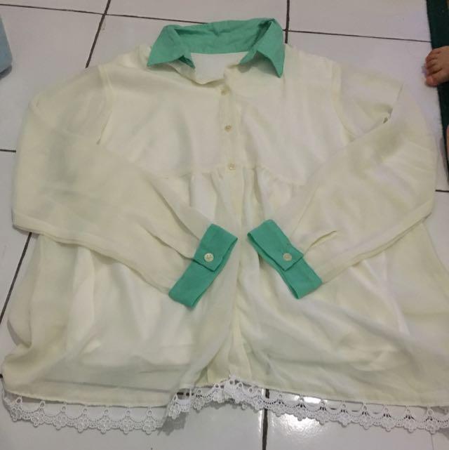 blouse white tosca