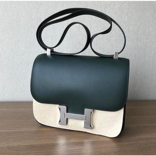 6e658ef0c007 ... order bnib hermes constance 24 vert fonce phw luxury bags wallets on  carousell 7102d 21083 ...