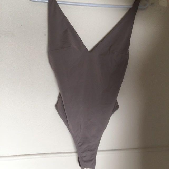 BNWT Kookai Julie Bodysuit in Moonshadow Size 1
