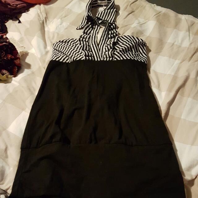 BNWT  Lemon Style Halter Dress