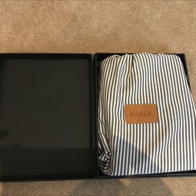 Brand New Beautifully Boxed Kikki K Leather Organiser