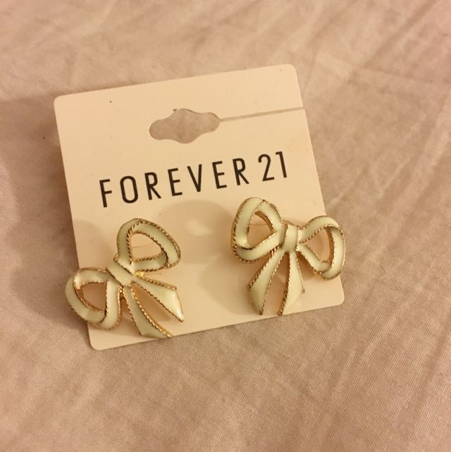 Brand New F21 Bow Earrings