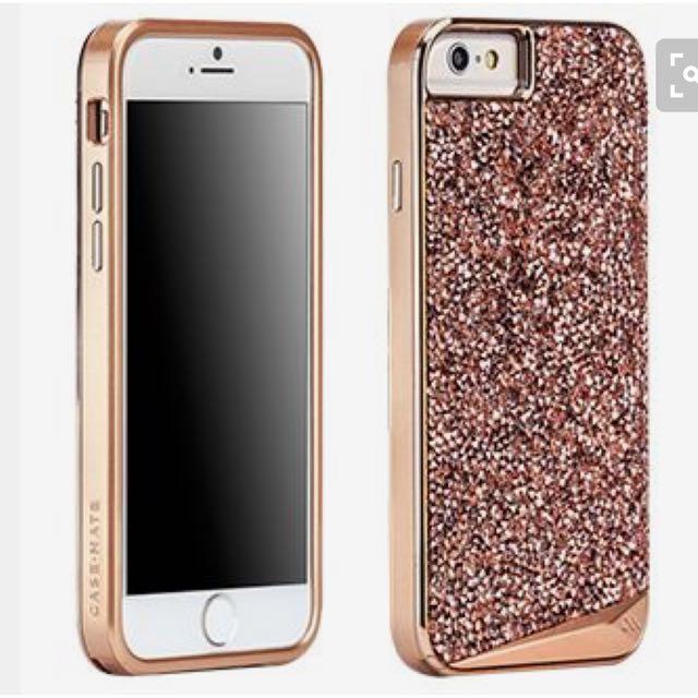 CASE-MATE Brilliance Rose Gold iPhone 6s Plus
