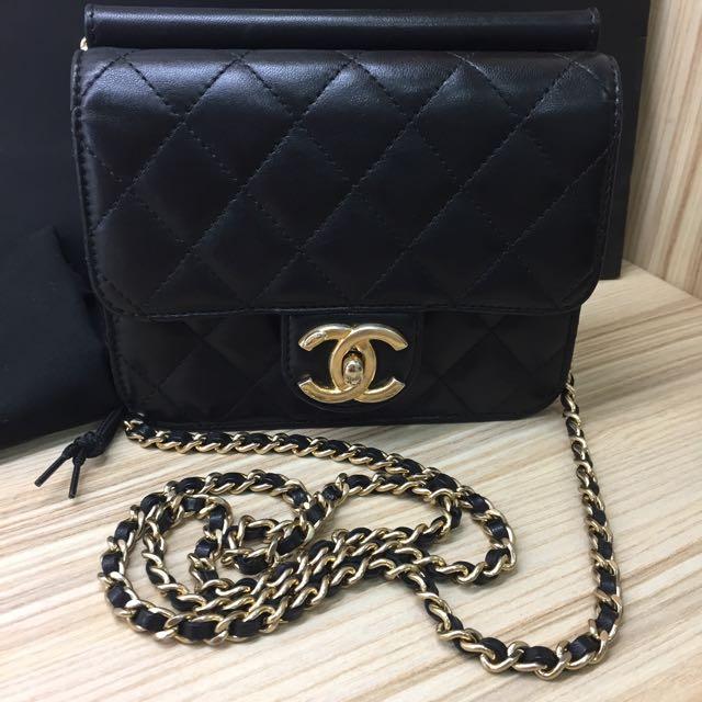 Chanel Mini Coco15黑金