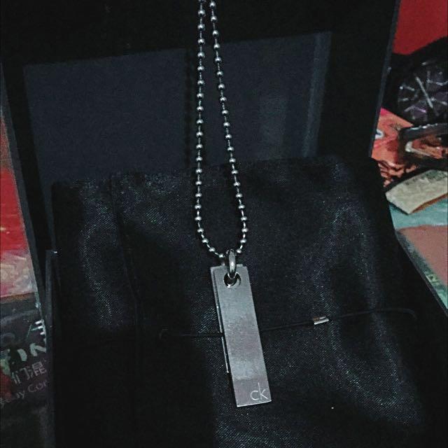 CK 長鏈 項鍊 銀