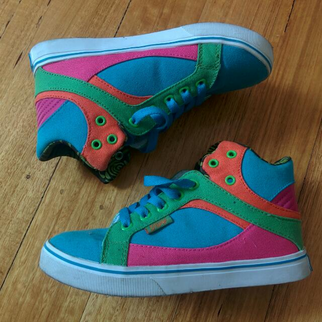 Colourful Pastry Sneakers