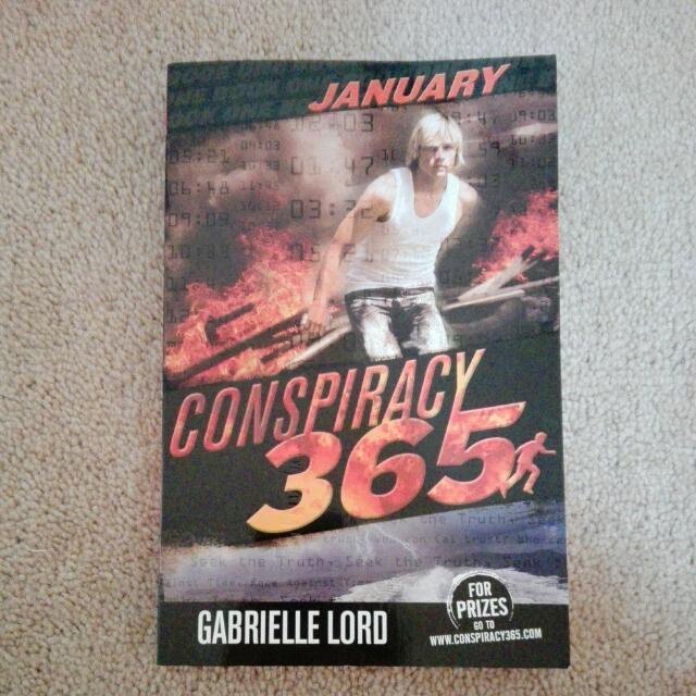 Conspiracy 365 Book