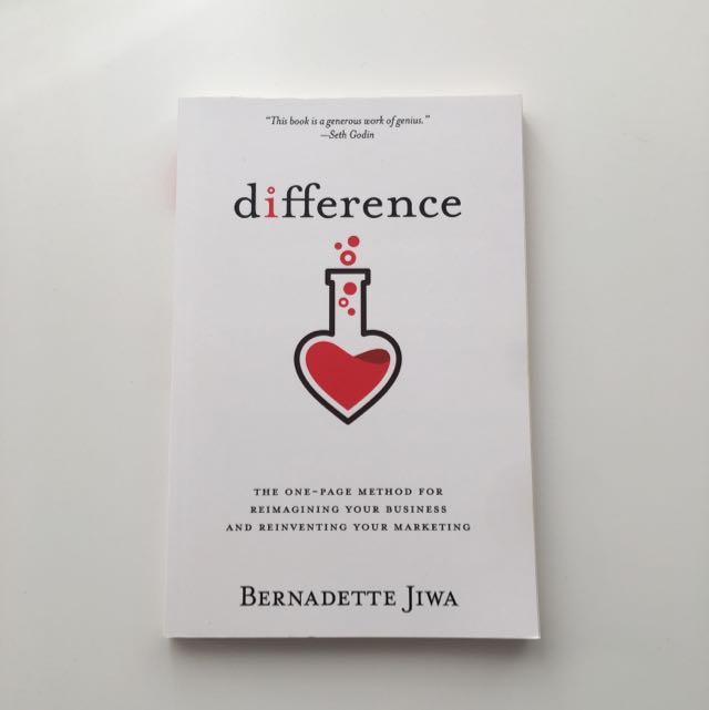 Difference by Bernadette Jiwa