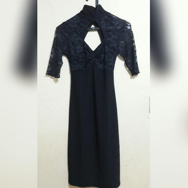 Dress Black Lace