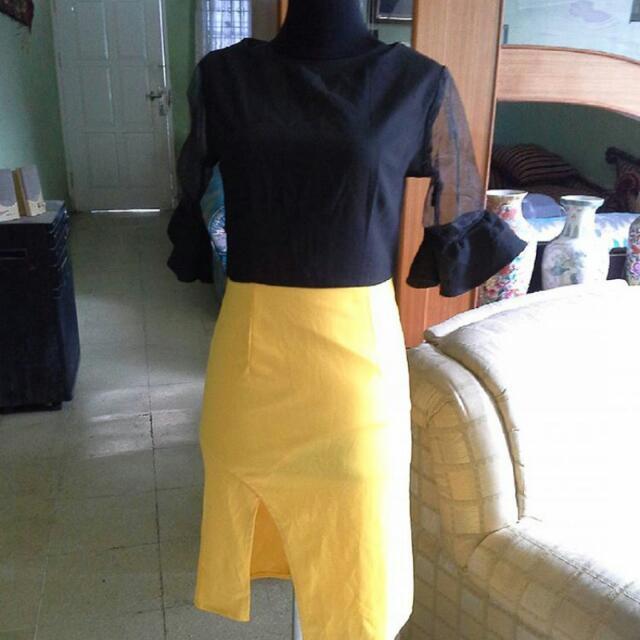 Dress Tangan Lonceng