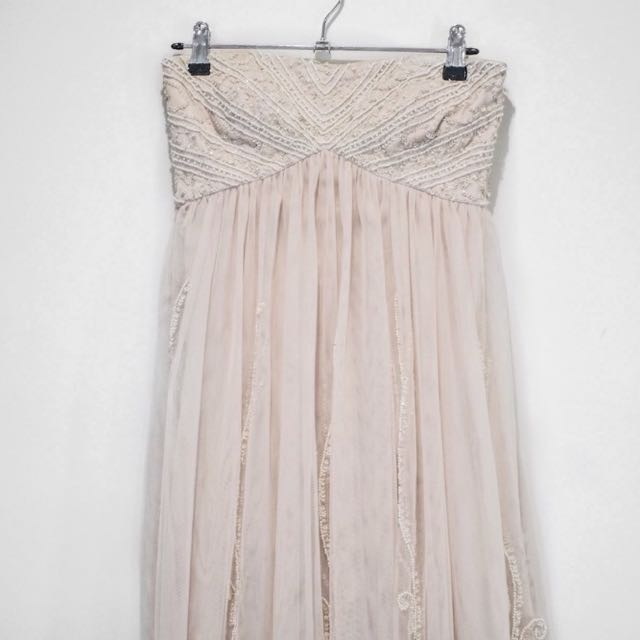 EMBROIDED Beaded Dress