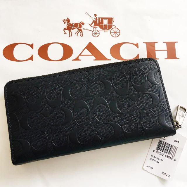 c15f255b373d F75372 COACH ACCORDION WALLET IN SIGNATURE CROSSGRAIN LEATHER ...