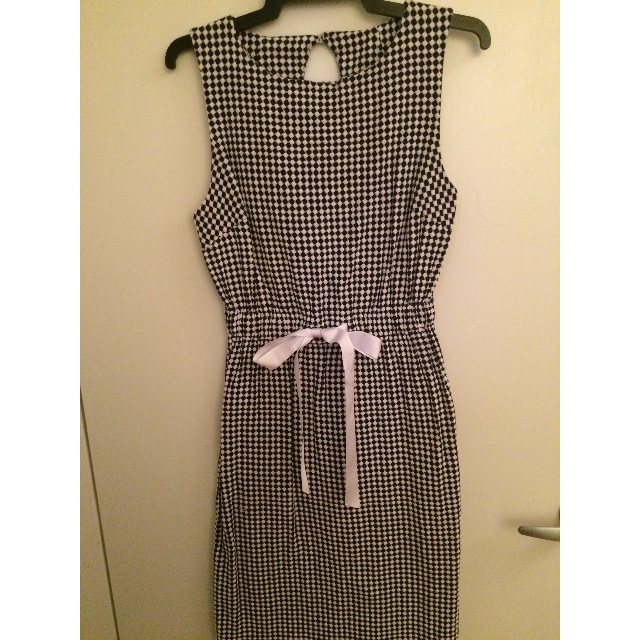 Fair Trade People Tree Blue and White Checked Dress