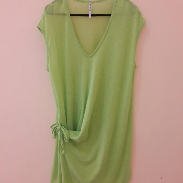 Green Blouse (MADE IN KOREA)