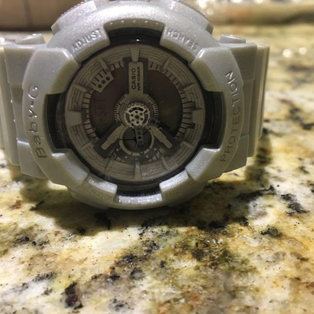 Grey Baby-G Watch