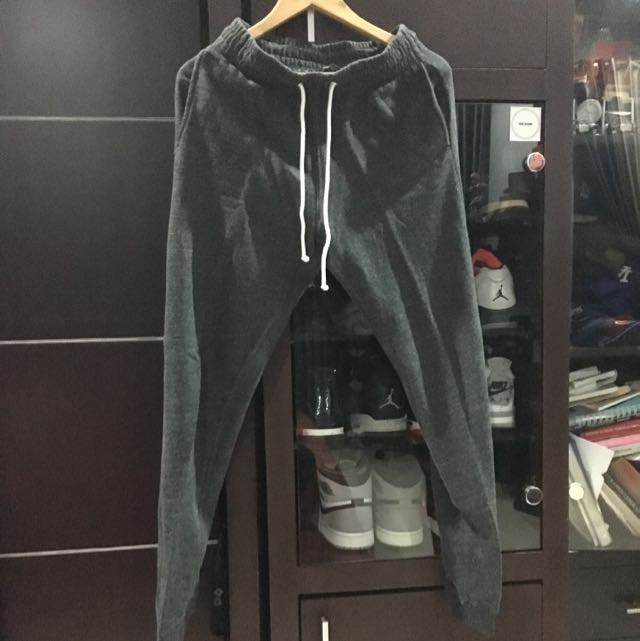 H&M jogger sweatpants grey