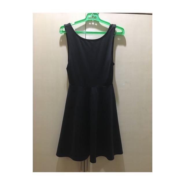H&M Little Black Dress with Low V Back