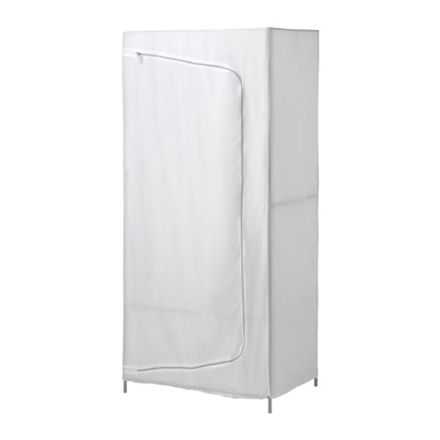 IKEA 衣櫃 衣櫥 BREIM 白色