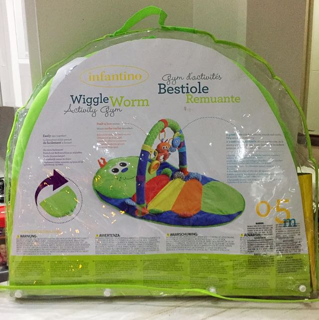 Infanito Wiggle Worm For 0-5 Months