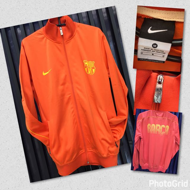Jacket Barca / Barcelona Orange