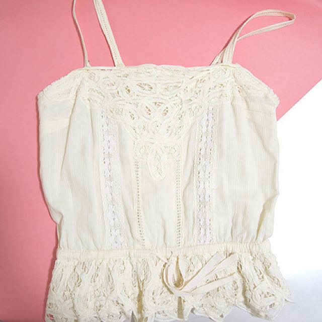 Kamiseta Lace Top