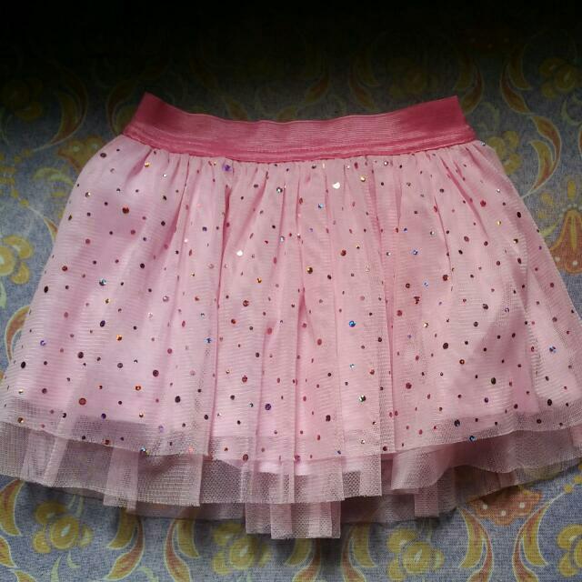 peppermint lace tutu skirt