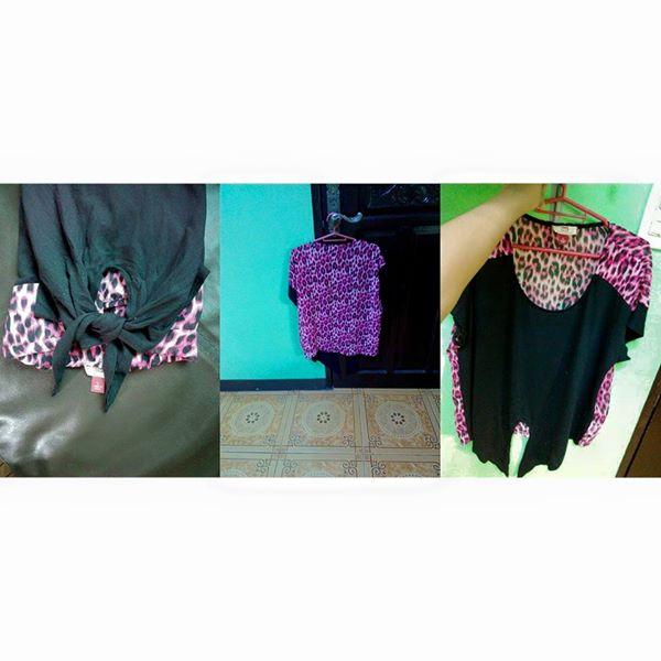 Lei black blouse