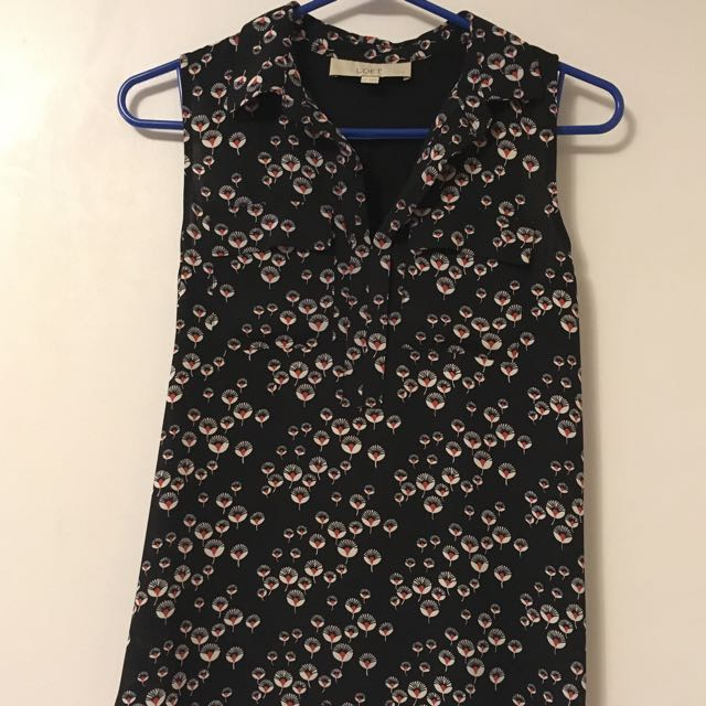 Loft By Ann Taylor - Ladies Shell Top XSP