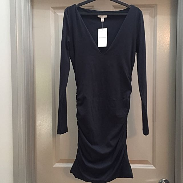 Long Sleeve Black Kookai Dress