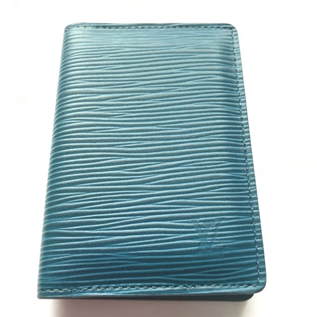 0d338e34 Louis Vuitton Epi Leather Card Holder, Luxury, Bags & Wallets on ...