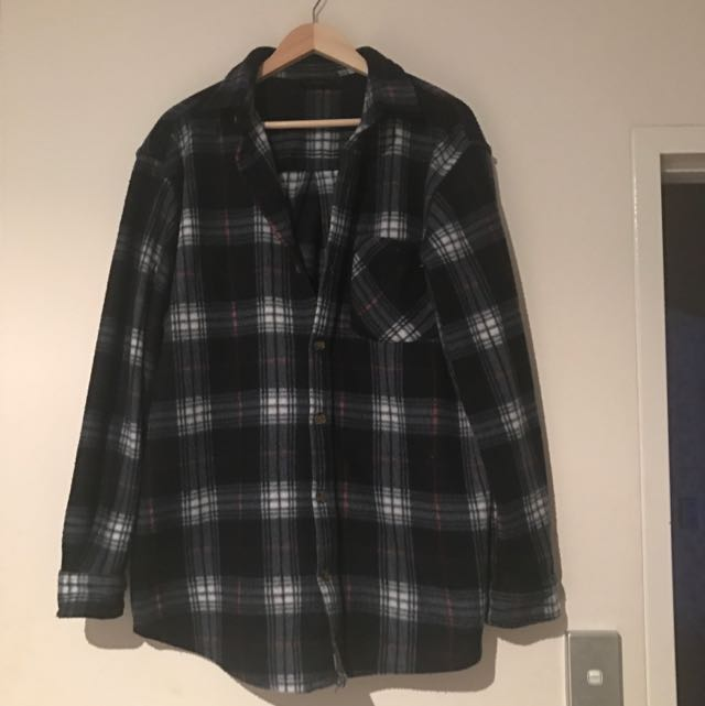 LOWES Blue Flannel Shirt