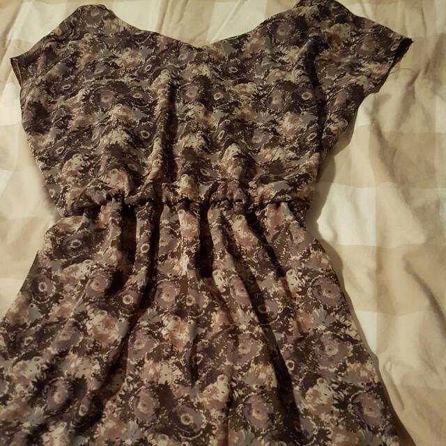 Lush Off Shoulder Summer Dress