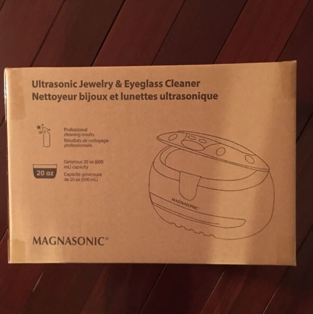 Magnasonic Jewelry And Eyeglasses Cleaner