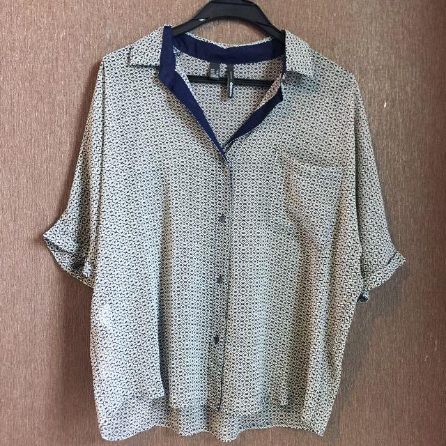 MANGO BLUE TOP (NEW)