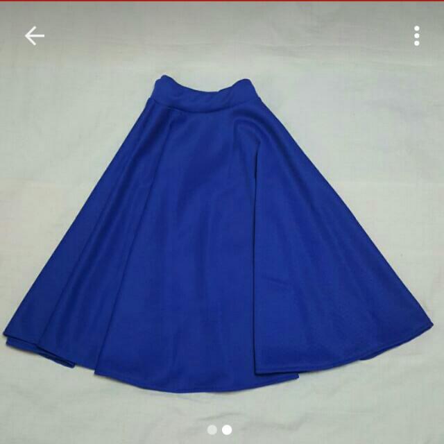 Midlength SKIRT Blue