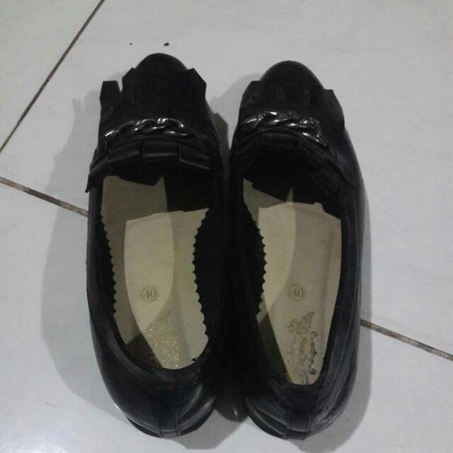 MISSCHY SHOES BLACK
