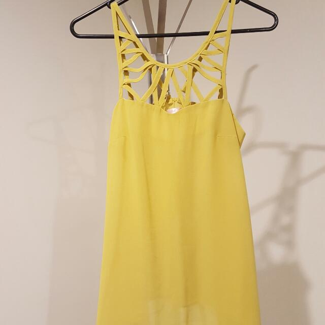 Mustard Top Size 8