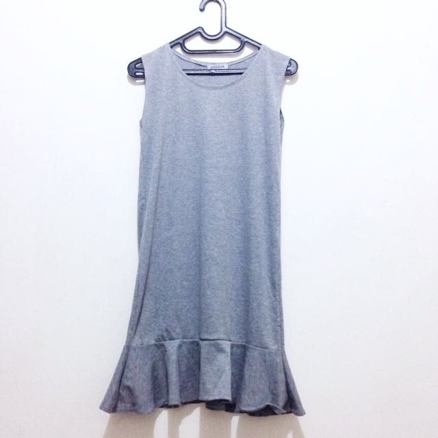NEW - Grey Knit Dress - Bangkok